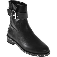 Cipők Női Bokacsizmák Elvio Zanon I6201N Fekete