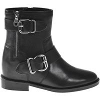 Cipők Női Bokacsizmák Elvio Zanon I7005N Fekete