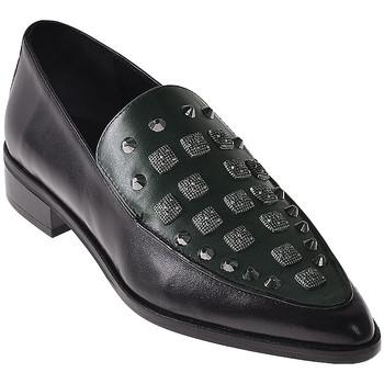Cipők Női Mokkaszínek Elvio Zanon I7703G Fekete