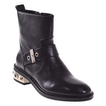 Cipők Női Bokacsizmák Elvio Zanon I8405P Fekete