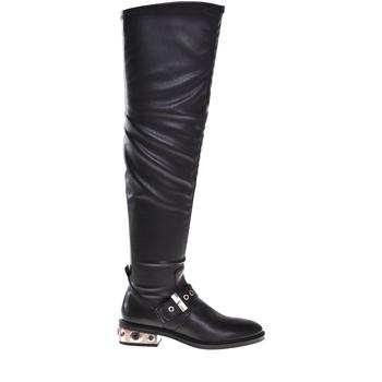 Cipők Női Városi csizmák Elvio Zanon I8406P Fekete