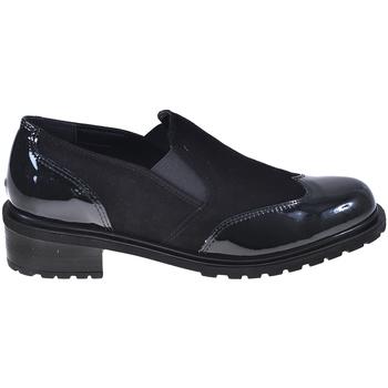 Cipők Női Mokkaszínek Grunland SC4094 Fekete