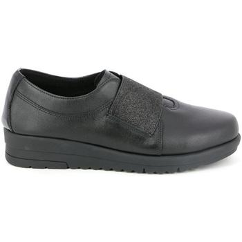 Cipők Női Mokkaszínek Grunland SC3979 Fekete