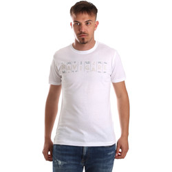 Ruhák Férfi Rövid ujjú pólók Navigare NV31081 Fehér
