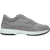 Cipők Férfi Rövid szárú edzőcipők IgI&CO 5117211 Szürke