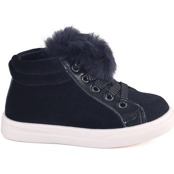 Cipők Gyerek Magas szárú edzőcipők Grunland PP0368 Kék