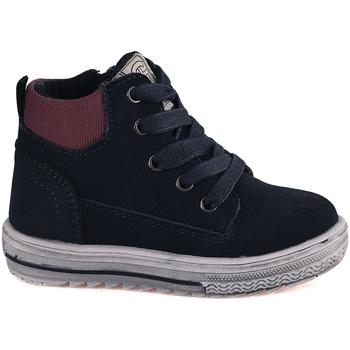 Cipők Gyerek Magas szárú edzőcipők Grunland PP0352 Kék