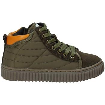 Cipők Gyerek Magas szárú edzőcipők Grunland PO1079 Zöld
