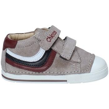 Cipők Gyerek Rövid szárú edzőcipők Chicco 01060434 Szürke
