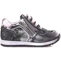 Cipők Lány Rövid szárú edzőcipők NeroGiardini A820630F Szürke