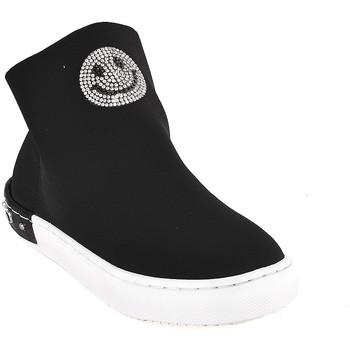 Cipők Gyerek Magas szárú edzőcipők Holalà HS0015T0002J Fekete