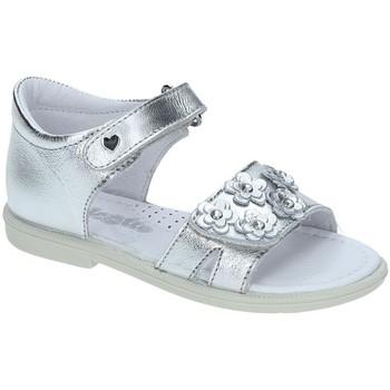 Cipők Lány Szandálok / Saruk Falcotto 1500702-02-9111 Ezüst