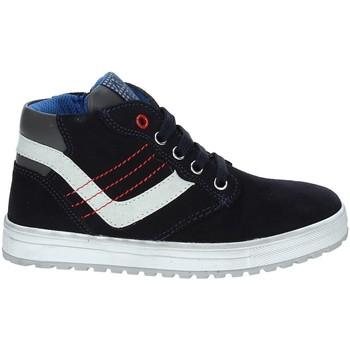 Cipők Gyerek Magas szárú edzőcipők Asso 68709 Kék
