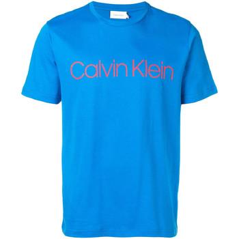 Ruhák Férfi Rövid ujjú pólók Calvin Klein Jeans K10K103078 Kék