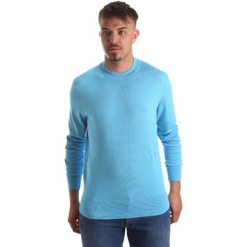 Ruhák Férfi Pulóverek Calvin Klein Jeans K10K103690 Kék