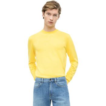 Ruhák Férfi Pulóverek Calvin Klein Jeans K10K103690 Sárga