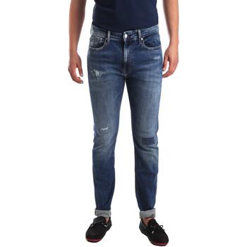Ruhák Férfi Slim farmerek Calvin Klein Jeans J30J311691 Kék