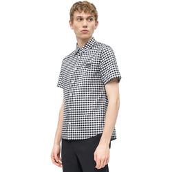 Ruhák Férfi Rövid ujjú ingek Calvin Klein Jeans J30J311492 Fehér