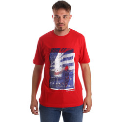 Ruhák Férfi Rövid ujjú pólók Calvin Klein Jeans J30J312285 Piros