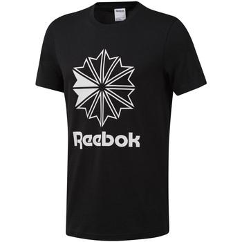 Ruhák Férfi Rövid ujjú pólók Reebok Sport DT8171 Fekete
