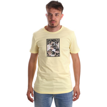 Ruhák Férfi Rövid ujjú pólók Antony Morato MMKS01551 FA100144 Sárga