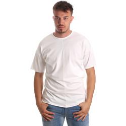 Ruhák Férfi Rövid ujjú pólók Antony Morato MMKS01564 FA100189 Fehér