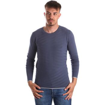 Ruhák Férfi Pulóverek Gaudi 911FU53018 Kék