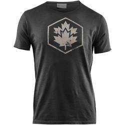 Ruhák Férfi Rövid ujjú pólók Lumberjack CM60343 002 509 Fekete