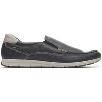 Cipők Férfi Mokkaszínek Enval 3238000 Kék