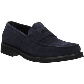Cipők Férfi Mokkaszínek Rogers AZ004 Kék