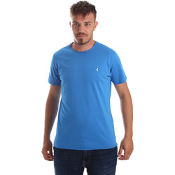 Ruhák Férfi Rövid ujjú pólók Navigare NV31069 Kék