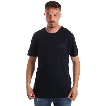 Ruhák Férfi Rövid ujjú pólók Navigare NV31070 Kék