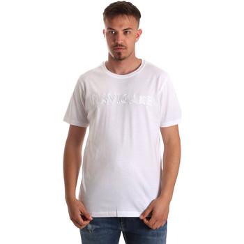 Ruhák Férfi Rövid ujjú pólók Navigare NV31070 Fehér