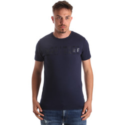 Ruhák Férfi Rövid ujjú pólók Navigare NV31081 Kék