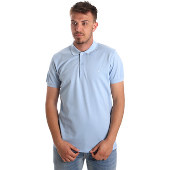 Ruhák Férfi Rövid ujjú galléros pólók Navigare NV82001AD Kék