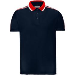 Ruhák Férfi Rövid ujjú galléros pólók Invicta 4452206/U Kék