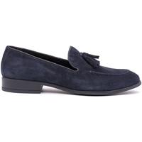 Cipők Férfi Mokkaszínek Soldini 20802-A-V89 Kék