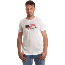 Ruhák Férfi Rövid ujjú pólók U.S Polo Assn. 51520 51655 Fehér