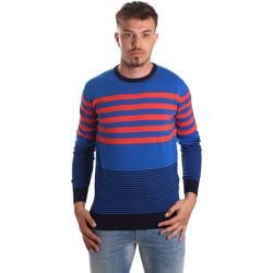 Ruhák Férfi Pulóverek U.S Polo Assn. 51727 51438 Kék