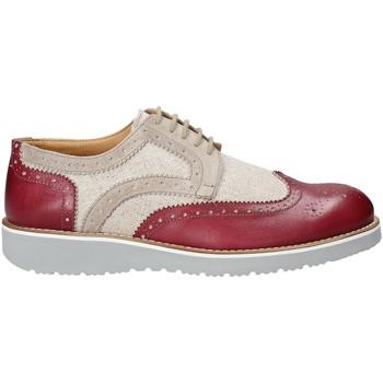 Cipők Férfi Oxford cipők Exton 5105 Piros