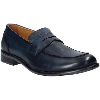 Cipők Férfi Mokkaszínek Exton 3106 Kék