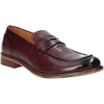 Cipők Férfi Mokkaszínek Exton 3106 Piros