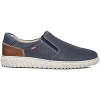 Cipők Férfi Belebújós cipők CallagHan 18503 Kék