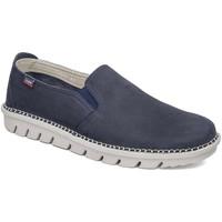 Cipők Férfi Belebújós cipők CallagHan 14503 Kék