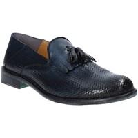 Cipők Férfi Mokkaszínek Exton 3105 Kék