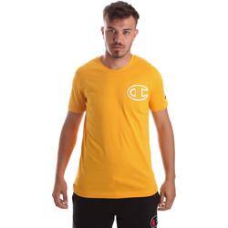 Ruhák Férfi Rövid ujjú pólók Champion 213251 Sárga