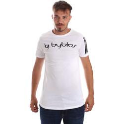 Ruhák Férfi Rövid ujjú pólók Byblos Blu 2MT0016 TE0046 Fehér