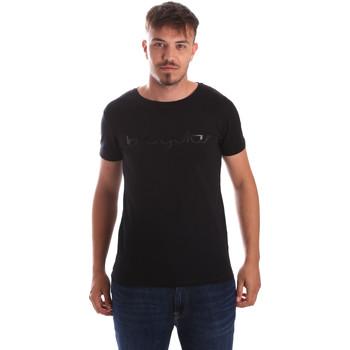 Ruhák Férfi Rövid ujjú pólók Byblos Blu 2MT0023 TE0048 Fekete