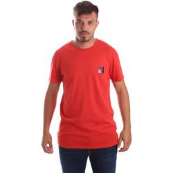 Ruhák Férfi Rövid ujjú pólók Byblos Blu 2MT0010 TE0045 Piros