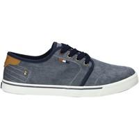 Cipők Férfi Rövid szárú edzőcipők Wrangler WM91100A Kék